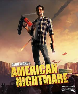 Alan Wake American Nightmare box art