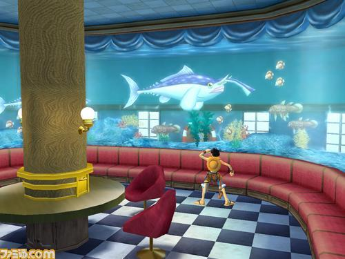 one piece unlimited cruise 1 fish tank