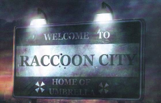 resident evil operation raccoon city sign