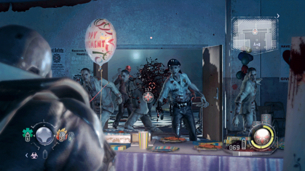 resident evil operation raccoon city zombie PARTY!