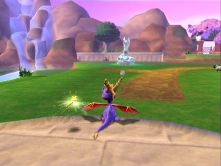 spyro enter the dragonflu hub