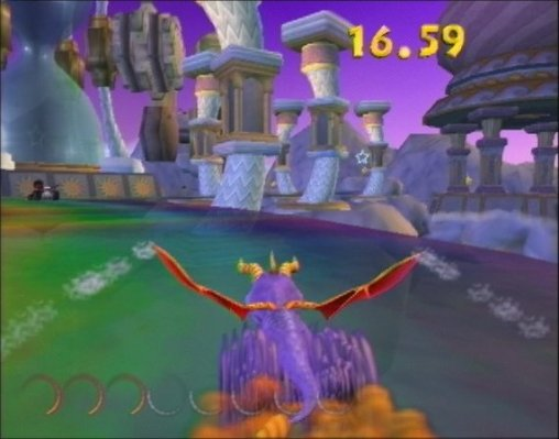 Spyro Enter the Dragonfly circuit collectathon