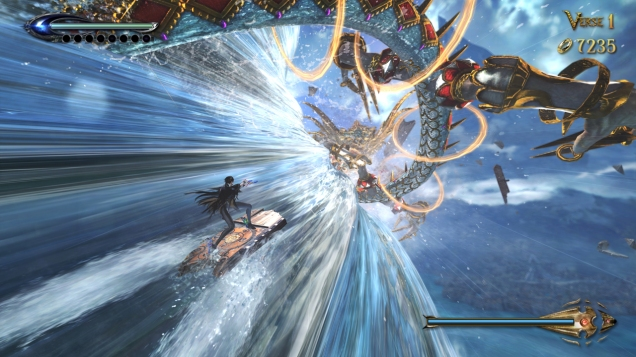 Bayonetta 2 up up and up