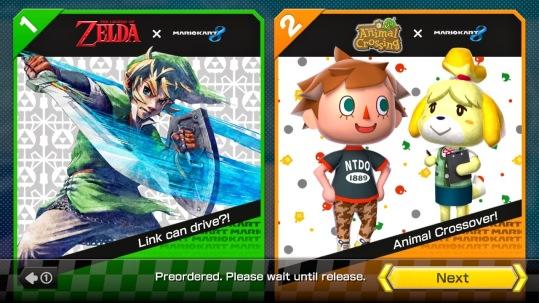 Mario Kart 8 DLCs