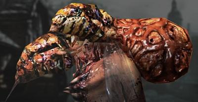 Una delle nuove disgustose mutazioni delle Plag-J'Avo, scusate.