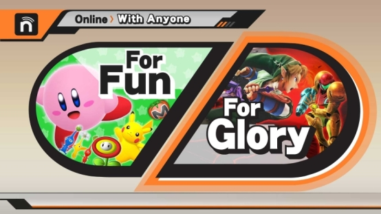 super smash bros wii u online
