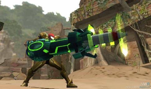 Oh, sì, tra i cameo c'è anche l'armatura ed armi di Samus.
