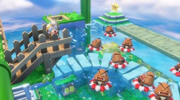 captain toad treasure tracker goomba pool party