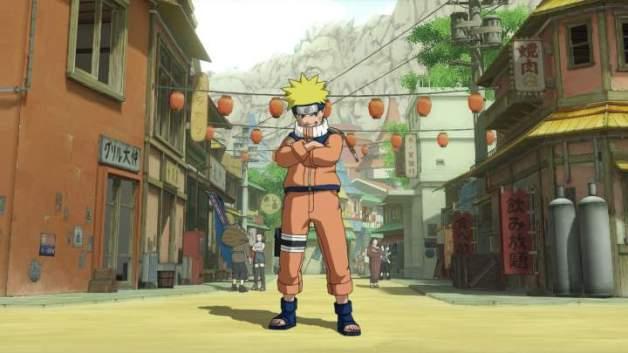 naruto ultimate ninja storm villaggio della foglia
