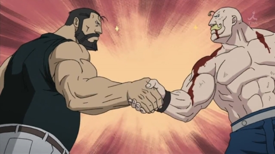 Full metal alchemist muscle friends