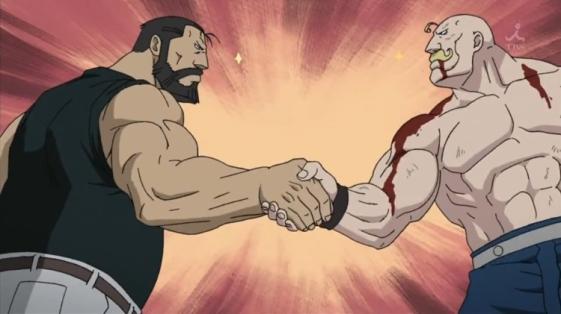 Full metal alchemist muscle friends