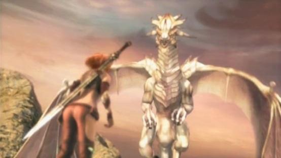 golden axe beast rider cutscene