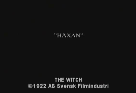 Haxan title screen