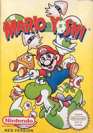 Mario & Yoshi cover