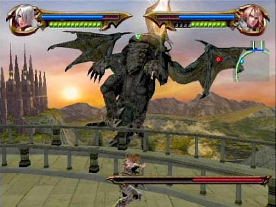 soul calibur legends dragon boss