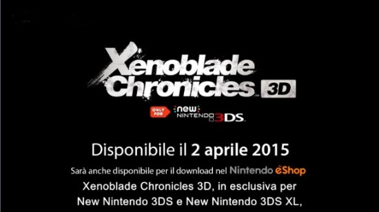 xenoblade chronicles 3d new 3ds nintendo direct