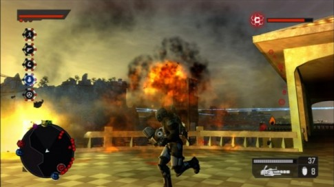 crackdown 2 screenshot