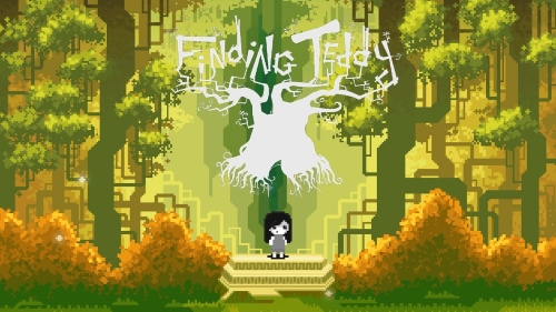 finding teddy logo