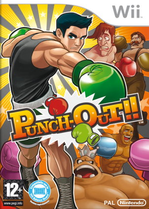 Punch Out! wii cover