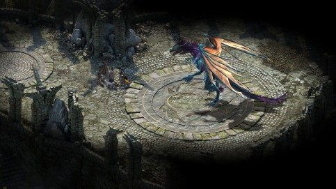 dragon pillars of eternity