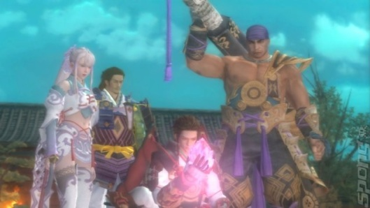 Genji Days Of The Blade group photo