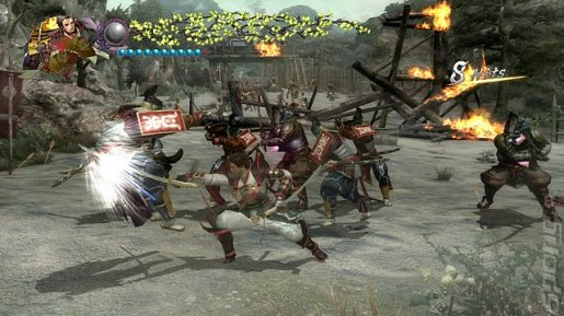 Genji Days of the Blade PS3  screenshot