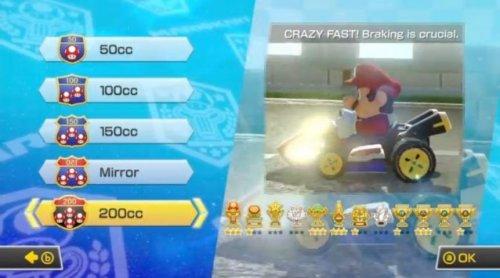 Mario Kart 8 200 cc