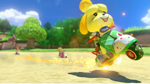 """La """"Fuffi Fever"""" è fortissima anche qui su Mario Kart."""