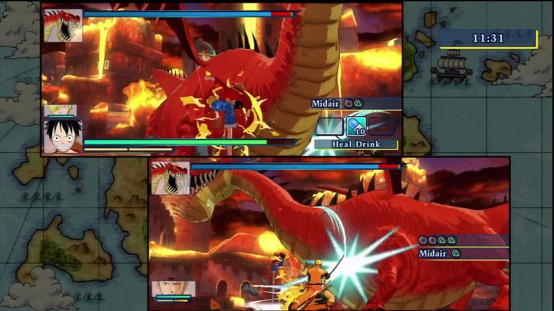 One Piece unlimited world R co-op