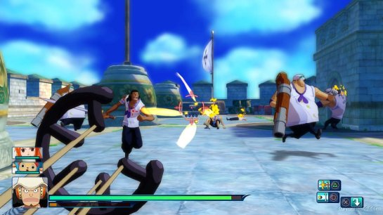 One Piece Unlimited World R first person usop