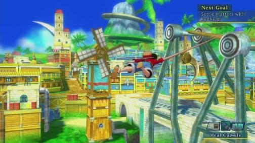 One Piece Unlimited World R transtown