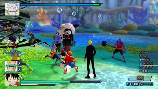 one_piece_unlimited_world_red screenshot 1