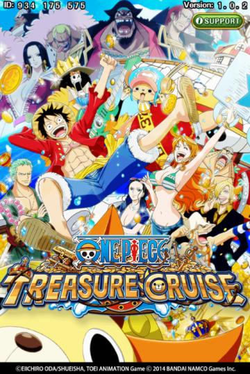 one piece treasure cruise logo