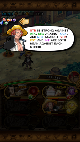 one piece treasure cruise combat system