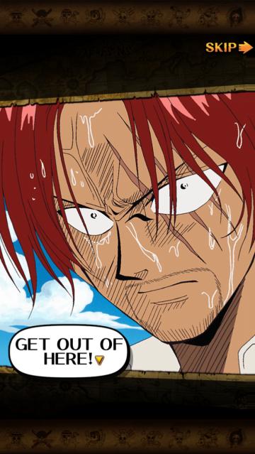 one piece treasure cruise shanks anime screenshot ripped