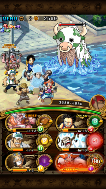 one piece treasure cruise screenshot