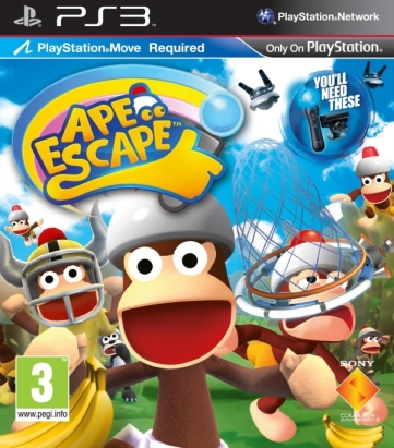 Ape Escape On The Move cover