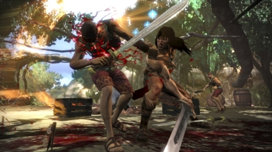 Conan X360 blood from thy sword