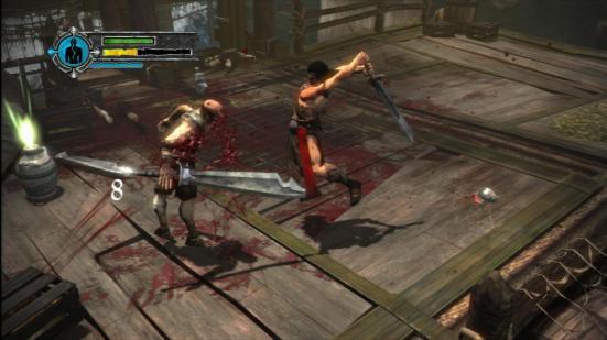Conan X360 gameplay