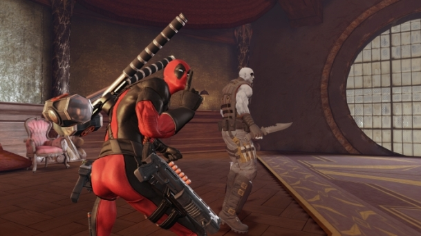 Deadpool The Videogame ssh