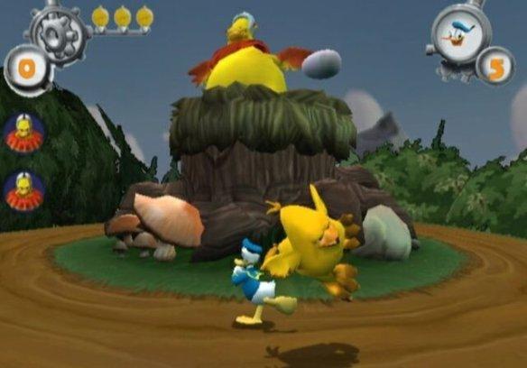 donald duck quack attack ps2 boss battle