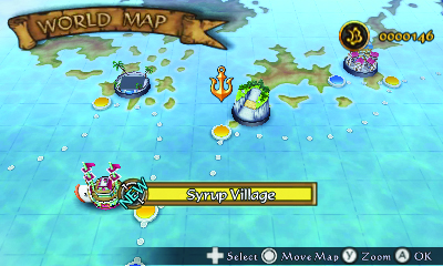 one piece romance dawn 3ds world map