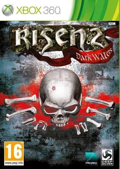 Risen 2  X360 cover