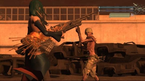 Bullet Witch Xbox 360 enemies