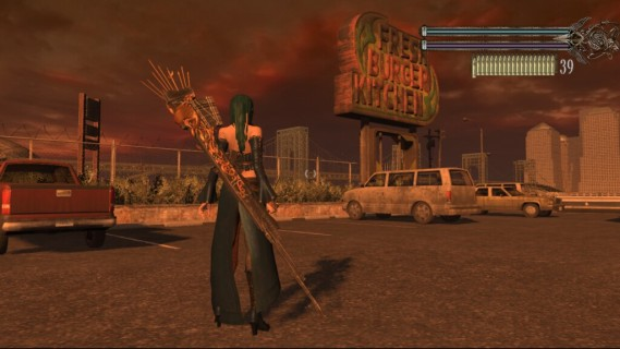 Bullet Witch Xbox 360 screenshot