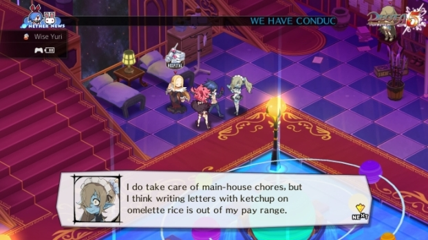 Disgaea 5: Alliance of Vengeance zombie maid