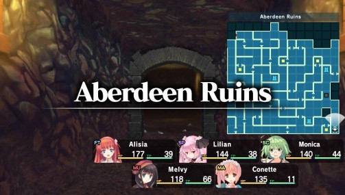 dungeon travelers 2 dungeon map