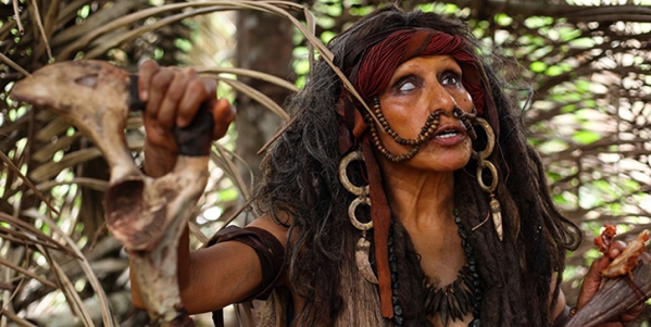the green inferno witchlady