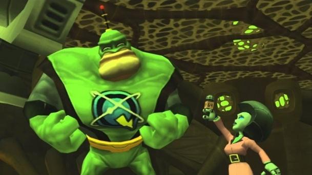 Nulla a che vedere con Fuse, ma solo questo frame da una cutscene di Ratchet & Clank è più interessante di Fuse.
