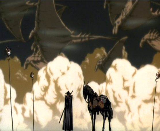 Vampire Hunter D Bloodlust desert mantas